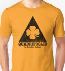 Quadrifoglio Cutout Black Vintage Graphic T-Shirt