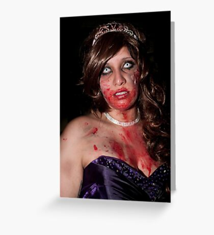 0723 Zombie 20 Greeting Card