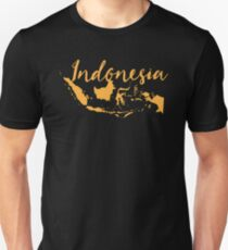 Indonesia with map T-Shirt