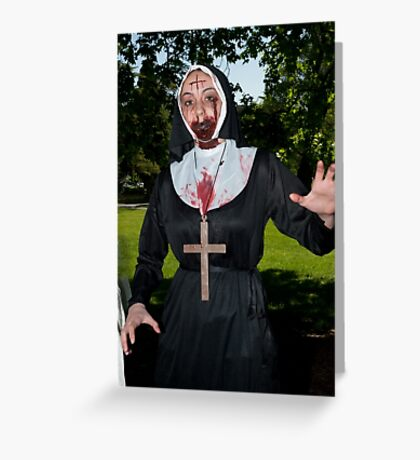0720 Zombie 18 Greeting Card