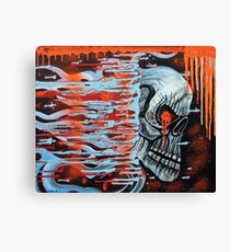 13TH Skull Canvas Print