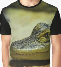 Alligator Mississippiensis - American Alligator | Riverhead, New York Graphic T-Shirt
