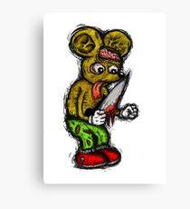 Morbid Mouse Canvas Print