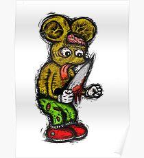 Morbid Mouse Poster