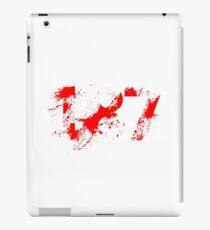 187 (Red) iPad Case/Skin
