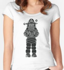 Robby the Robot Women's Fitted Scoop T-Shirt