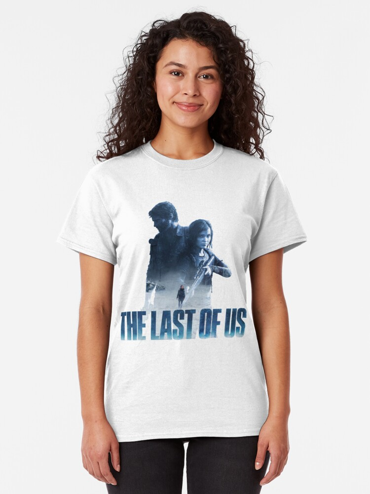 """Alternate view of The Last Of Us """"Cold Winter"""" Classic T-Shirt"""