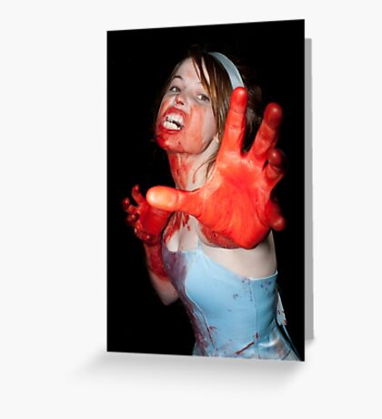 0717 Zombie 15 Greeting Card