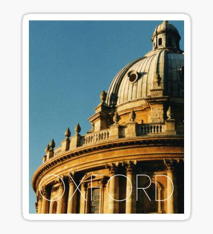 OXFORD II Sticker