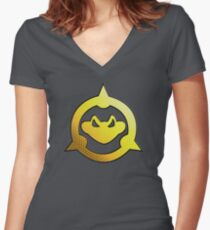 Battletoads Women's Fitted V-Neck T-Shirt