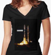 Kepler Team PIA 14446 God Not Found Women's Fitted V-Neck T-Shirt