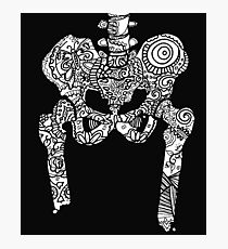 Dancing Tattooed Hip Bones from the Sugar Skull All Over Series Photographic Print