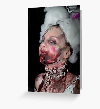 0754 Zombie 49 Greeting Card