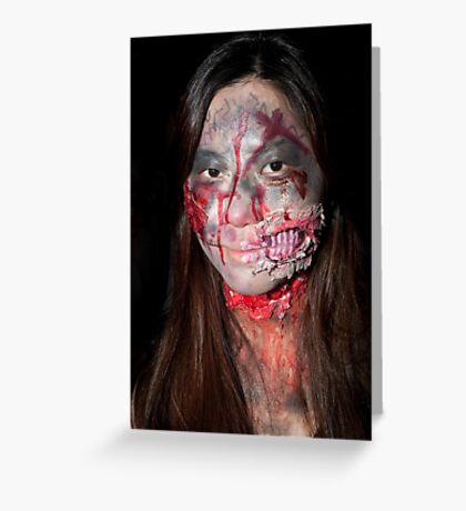 0753 Zombie 48 Greeting Card