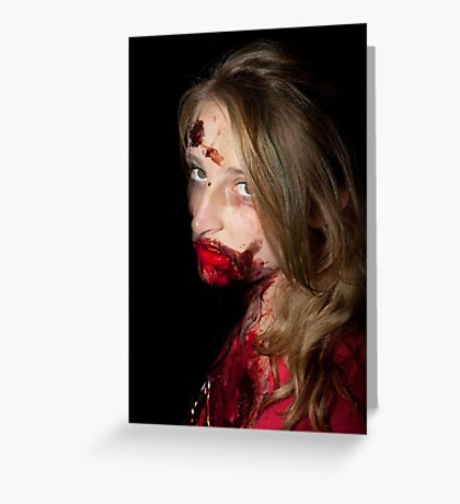 0751 Zombie 46 Greeting Card