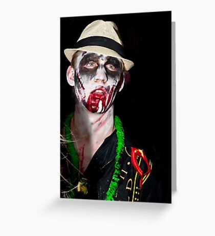 0748 Zombie 43 Greeting Card