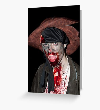 0747 Zombie Greeting Card