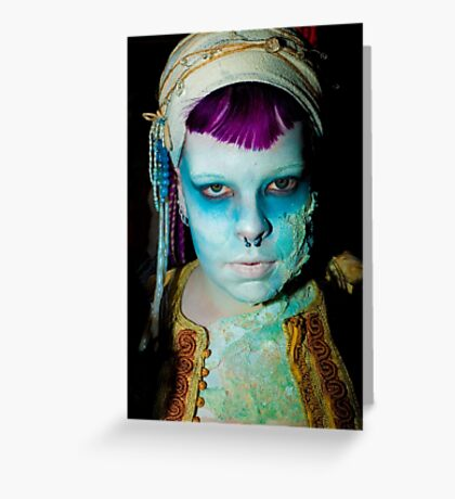 0745 Zombie Greeting Card