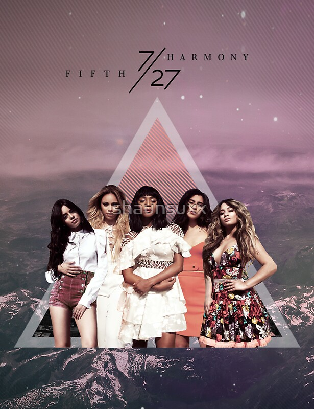Quot Fifth Harmony 7 27 Mountains Quot Stickers By Shaunsuxx