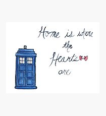 Home is Where the Hearts Are Photographic Print