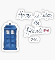 Home is Where the Hearts Are Sticker