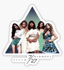 FIFTH HARMONY ~ 7/27 (Triangle) Sticker