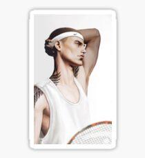 Tennis team Ronan Sticker