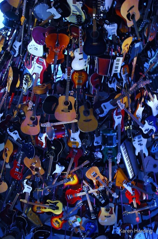 Wall of Sound by Karen Harding