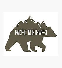 PNW Mountain Bear Photographic Print