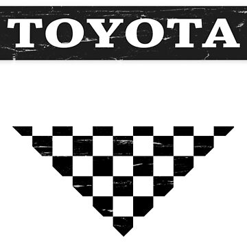 Toyota 2000GT Checker Graphic by Nwar