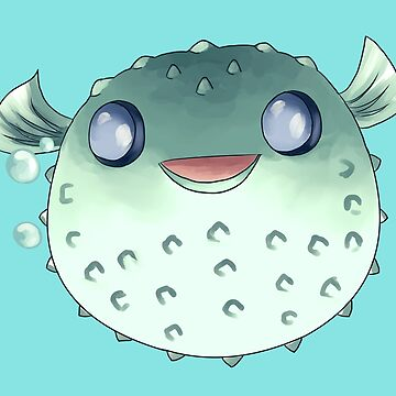 Pufferfish  by Darthblueknight
