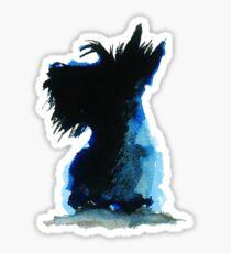 Scottie Dog Sticker