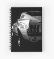 ford mustang v8 Spiral Notebook