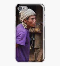 Pipe Smoker iPhone Case/Skin