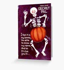 Zodiac Killer Halloween  Greeting Card