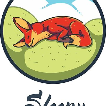 Sleepy fox - lazy - fox by grfxpro