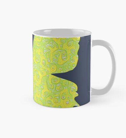 #DeepDream Lemon Lime color Butterfly Mug