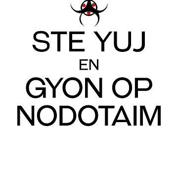 STE YUJ - GYON OP NODOTAIM [dark] by brennooth