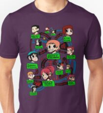 Scott pilgrim relationships Unisex T-Shirt