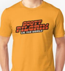 Scottpilgrim vs the world logo T-Shirt
