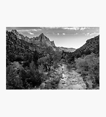 Zion National Park, Utah Photographic Print