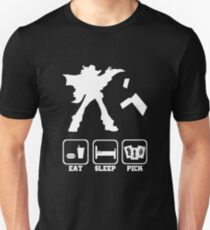 Eat sleep Pick 2 Unisex T-Shirt