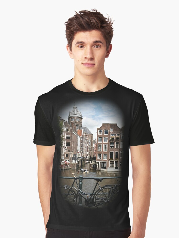 Amsterdam, Netherlands Graphic T-Shirt Front