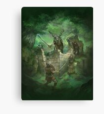 Beyond the Wall Canvas Print