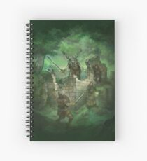 Beyond the Wall Spiral Notebook