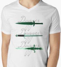 Dagger, dagger, dagger Men's V-Neck T-Shirt