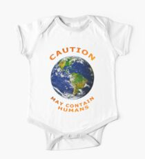 Caution May Contain Humans Kids Clothes