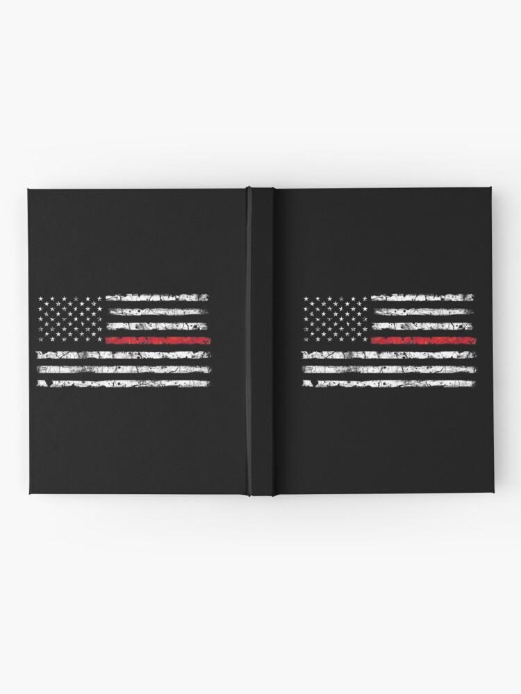 Vista alternativa de Cuaderno de tapa dura Línea roja (blanca) V2