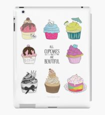 All Cupcakes are Beautiful I iPad-Hülle & Skin