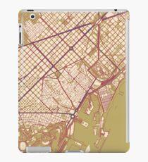 Barcelona Map (Autumn) iPad Case/Skin